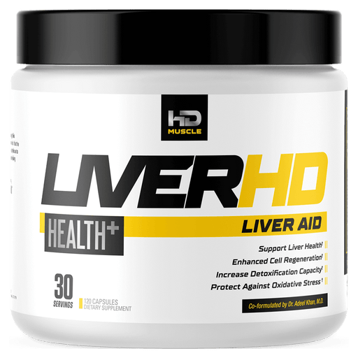 HD Muscle Liver-HD Health Supplements 120 Capsules at Supplement Superstore Canada