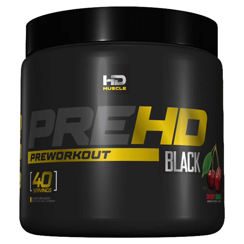 HD Muscle Pre-HD Black Pre Workout 40 Servings / Cherry Smash at Supplement Superstore Canada