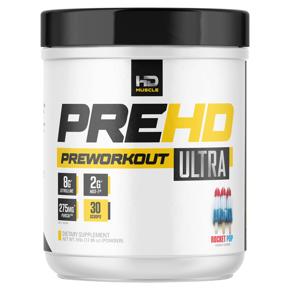 HD Muscle Pre-HD Ultra Pre-Workout Supplements 30 Servings / Rocket Pop at Supplement Superstore Canada