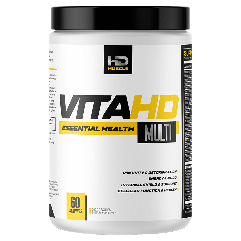HD Muscle Vita-HD Multivitamins 300 Capsules at Supplement Superstore Canada