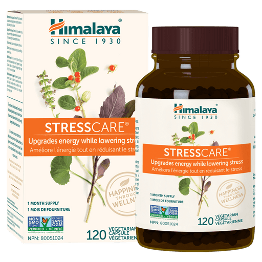 Himalaya StressCare Health Supplements 120 Capsules at Supplement Superstore Canada 605069003018