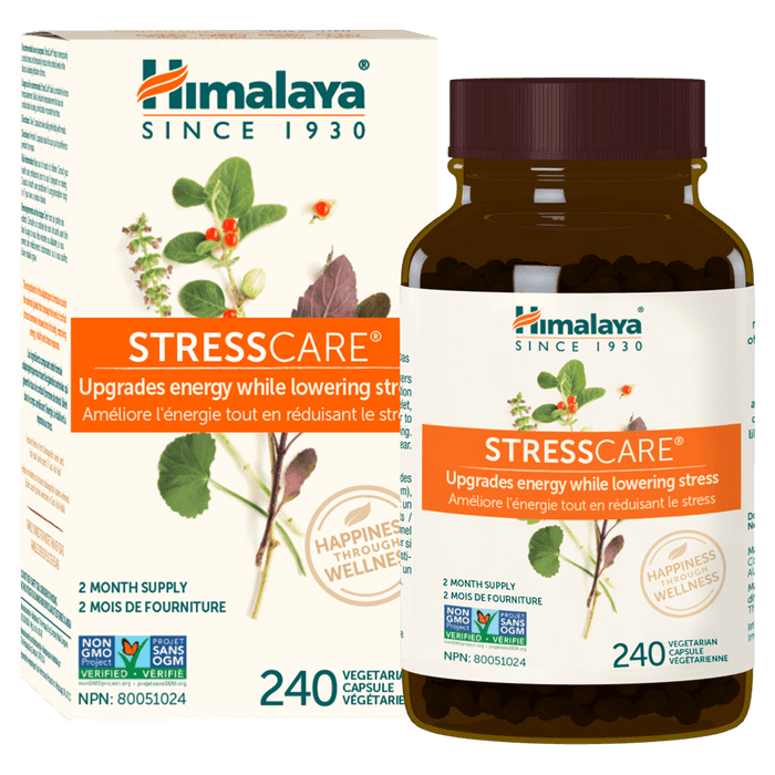Himalaya StressCare Health Supplements 240 Capsules at Supplement Superstore Canada 605069003117