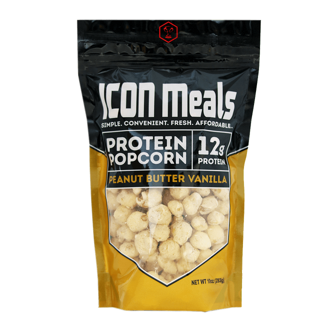 Icon Meals Protein Popcorn Popcorn 240g / Vanilla Peanut Butter at Supplement Superstore Canada
