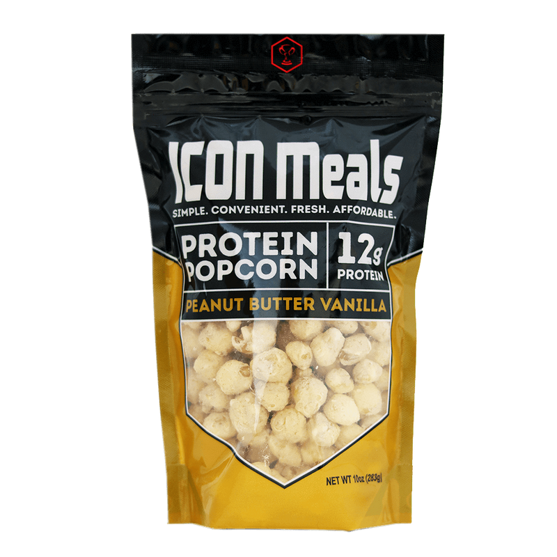 Icon Meals Protein Popcorn Popcorn 240g / Dark Chocolate Sea Salt at Supplement Superstore Canada