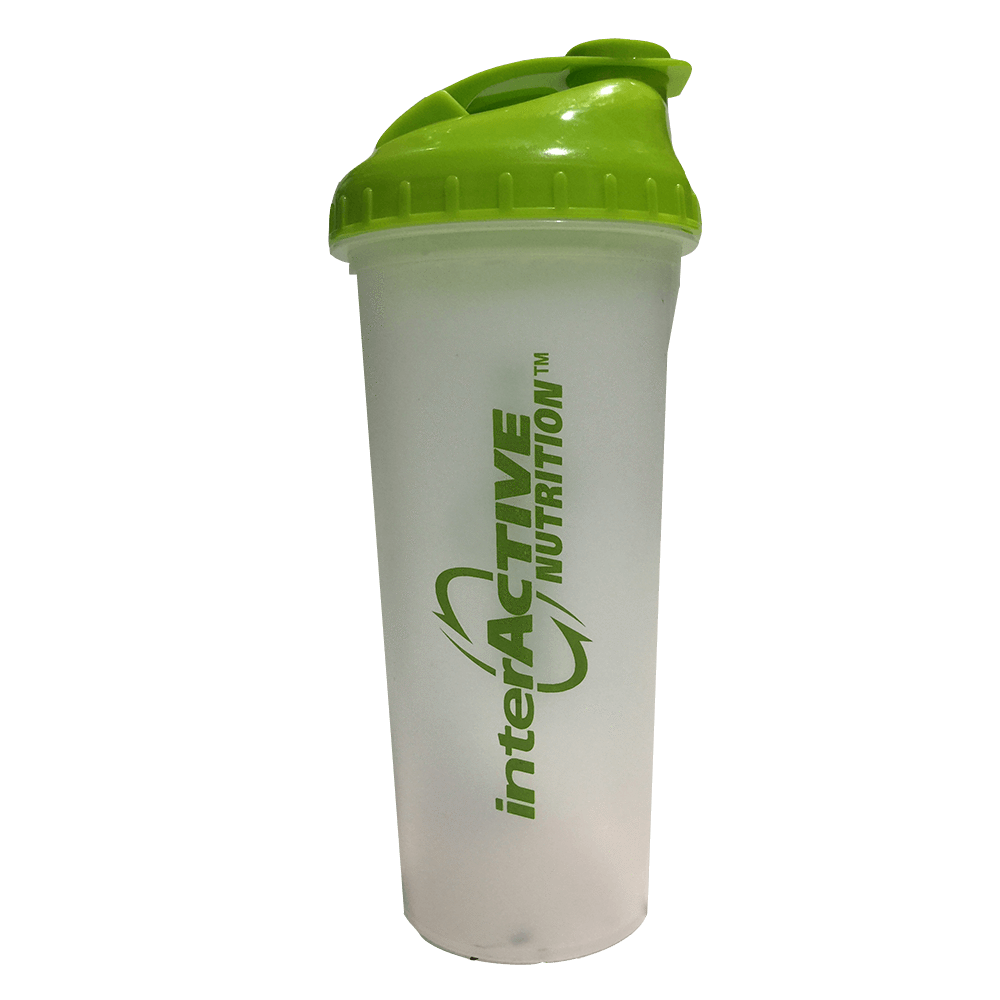 Interactive Nutrition Shaker Shaker 700ml / Clear/Green at Supplement Superstore Canada