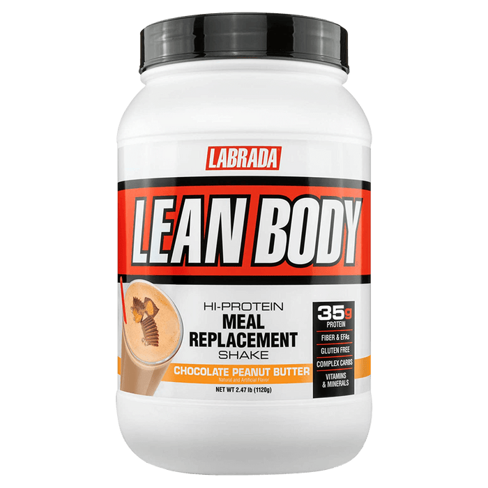 Labrada Lean Body Meal Replacement Protein Powder 2.47lb / Chocolate Peanut Butter at Supplement Superstore Canada