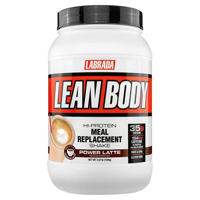 Labrada Lean Body Meal Replacement Protein Powder 2.47lb / Power Latte at Supplement Superstore Canada