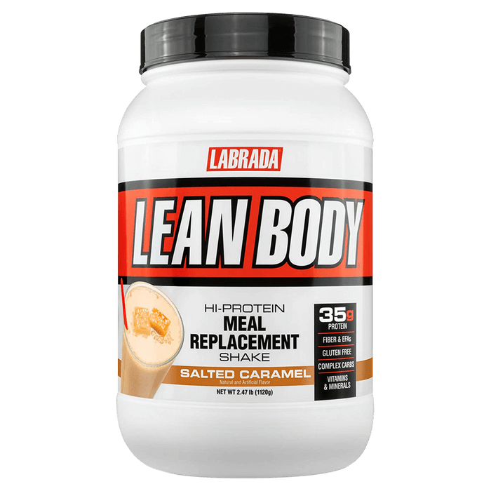 Labrada Lean Body Meal Replacement Protein Powder 2.47lb / Salted Caramel at Supplement Superstore Canada