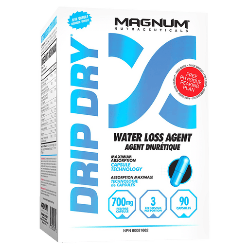 Magnum Drip Dry Fat Burner Supplements 90 Capsules at Supplement Superstore Canada 689076000659