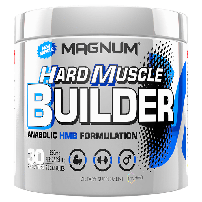 Magnum Nutraceuticals Hard Muscle Builder BCAA 90 Capsules at Supplement Superstore Canada
