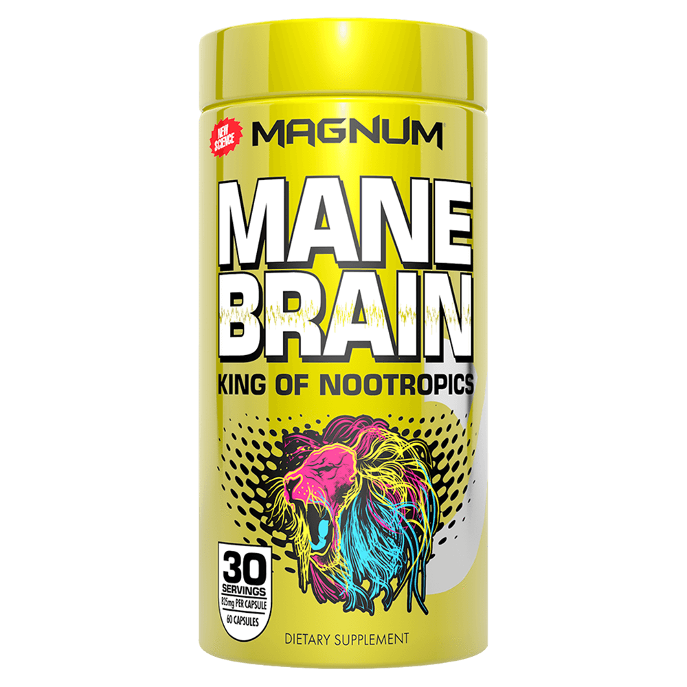 Magnum Nutraceuticals Mane Brain Stimulant 60 Capsules at Supplement Superstore Canada