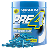 Magnum Nutraceuticals PreFo Pre-Workout 50 Servings / Candied Green Apple at Supplement Superstore Canada