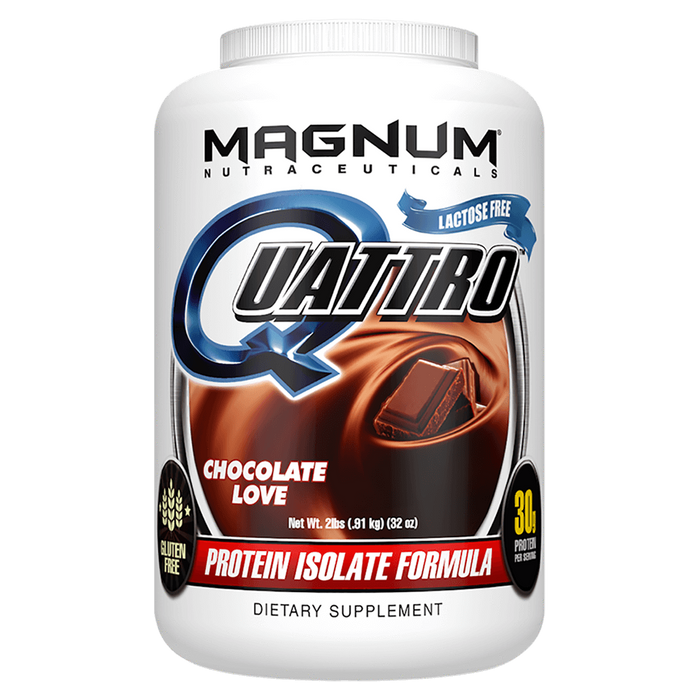 Magnum Nutraceuticals Quattro Sustained Release Protein 2lb / Chocolate Love at Supplement Superstore Canada