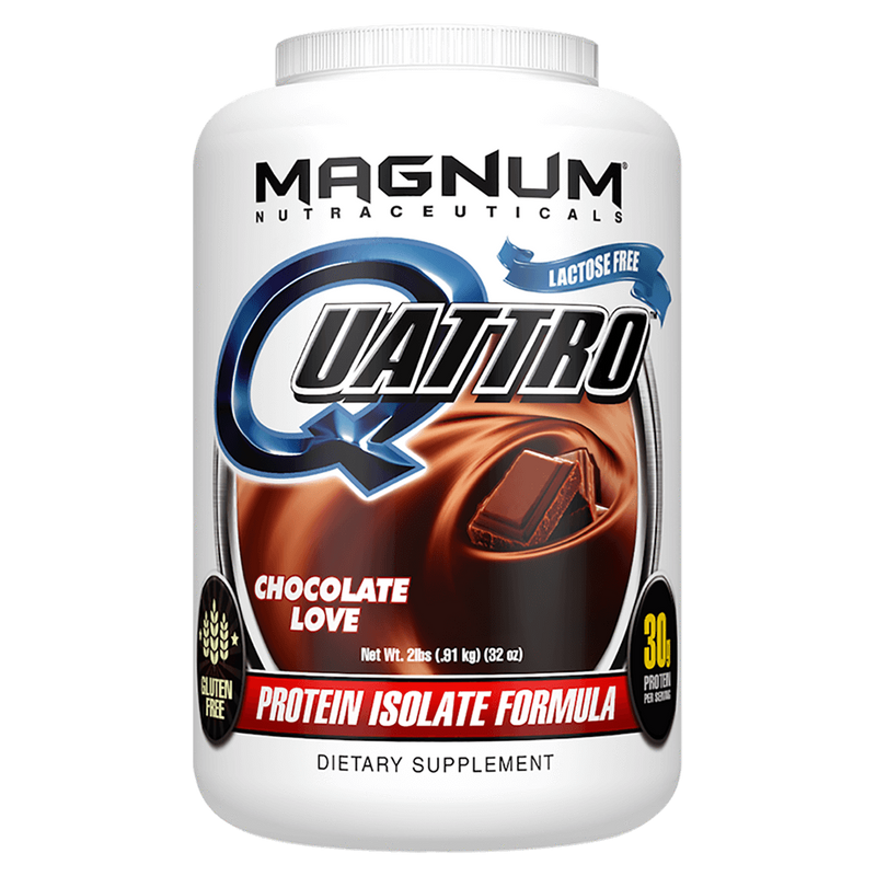 Magnum Nutraceuticals Quattro Sustained Release Protein 4lb / Fruity Hoops at Supplement Superstore Canada
