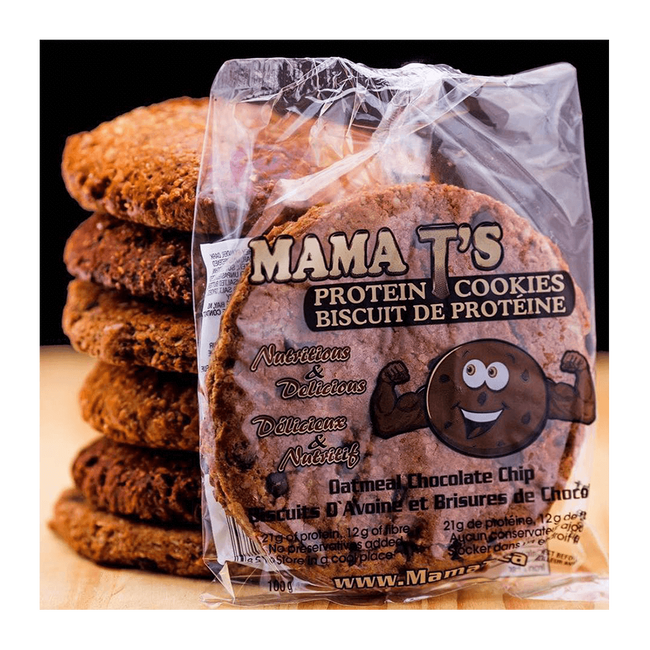 Oatmeal Chocolate Chip Mama T's Cookie by Mama T Functional Food at Supplement Superstore Canada