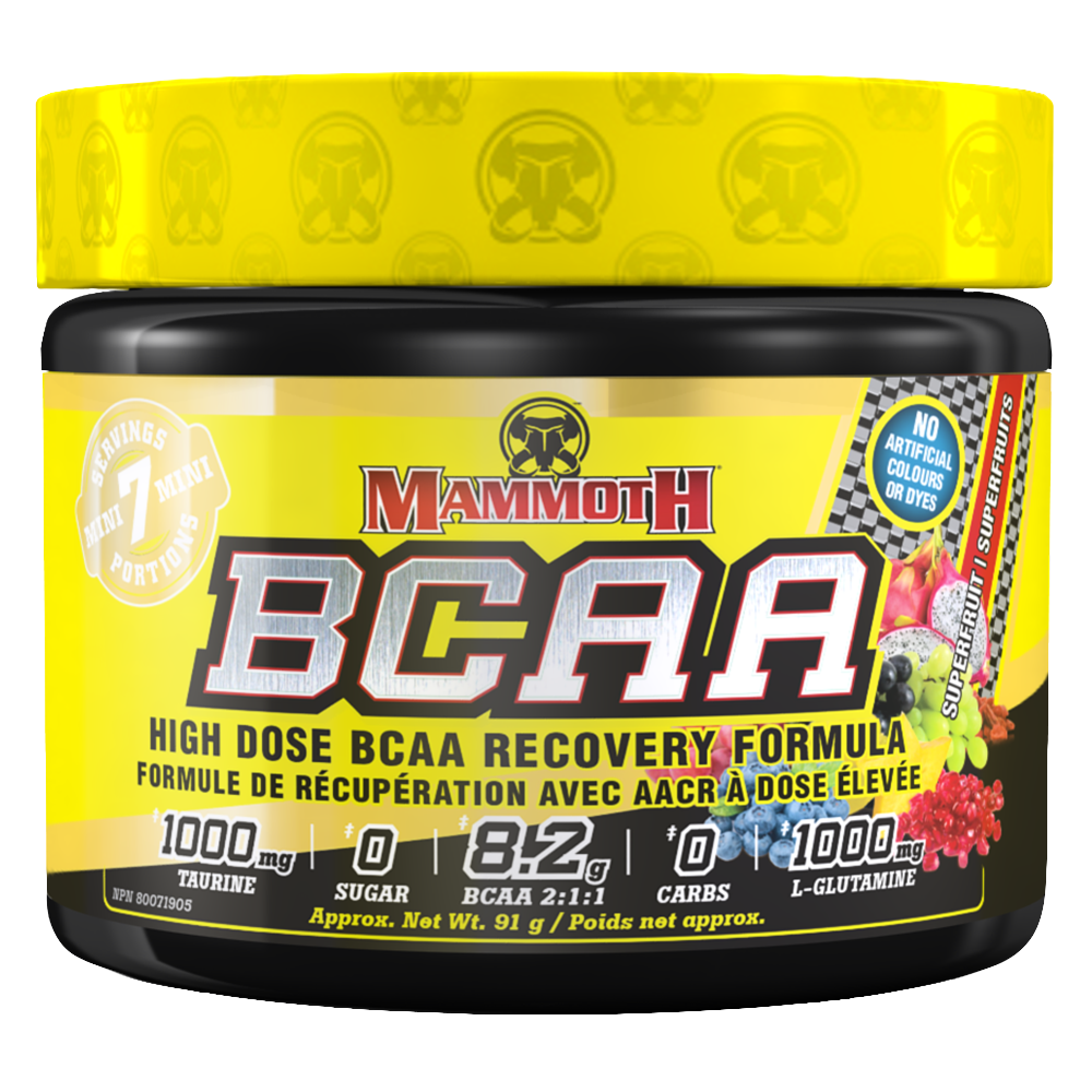 Super Fruit Mammoth BCAA by Mammoth Supplements BCAA at Supplement Superstore Canada