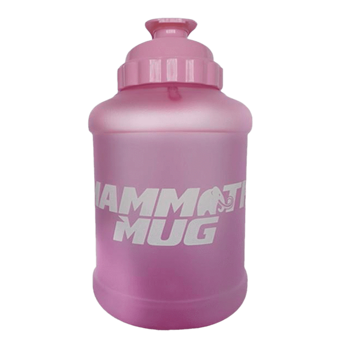 Mammoth Mug Shaker 2.5 Litre / Frosted Pink at Supplement Superstore Canada