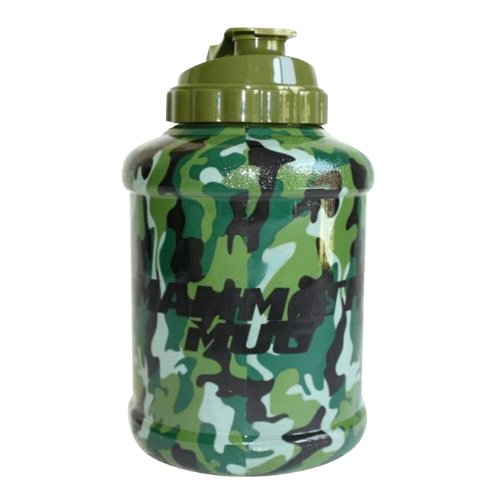 Mammoth Mug Shaker 2.5 Litre / Full Camo at Supplement Superstore Canada