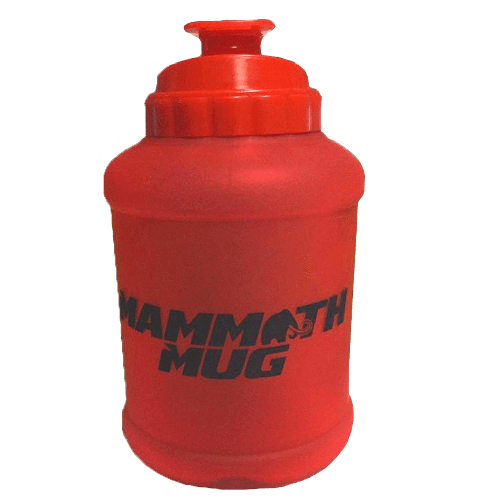 Mammoth Mug Shaker 2.5 Litre / Matte Red at Supplement Superstore Canada