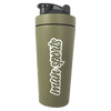 MAN Sports Metal Shaker Cup Shaker 700ml / Olive at Supplement Superstore Canada