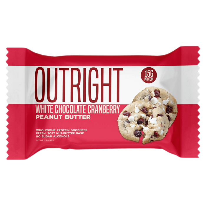MTS Nutrition Outright Bar Protein Bar 1 Bar / White Chocolate Cranberry Peanut Butter at Supplement Superstore Canada