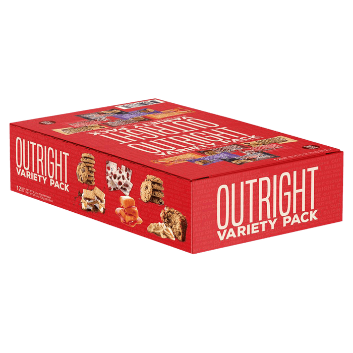 MTS Nutrition Outright Bar Protein Bars Box of 12 / Variety Pack at Supplement Superstore Canada