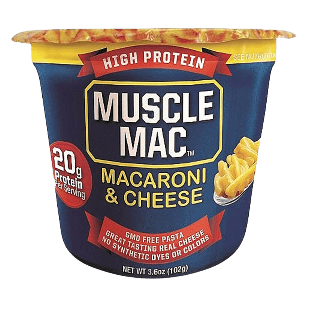 Muscle Mac Microwave Cup Functional Food 6.75oz / Original at Supplement Superstore Canada