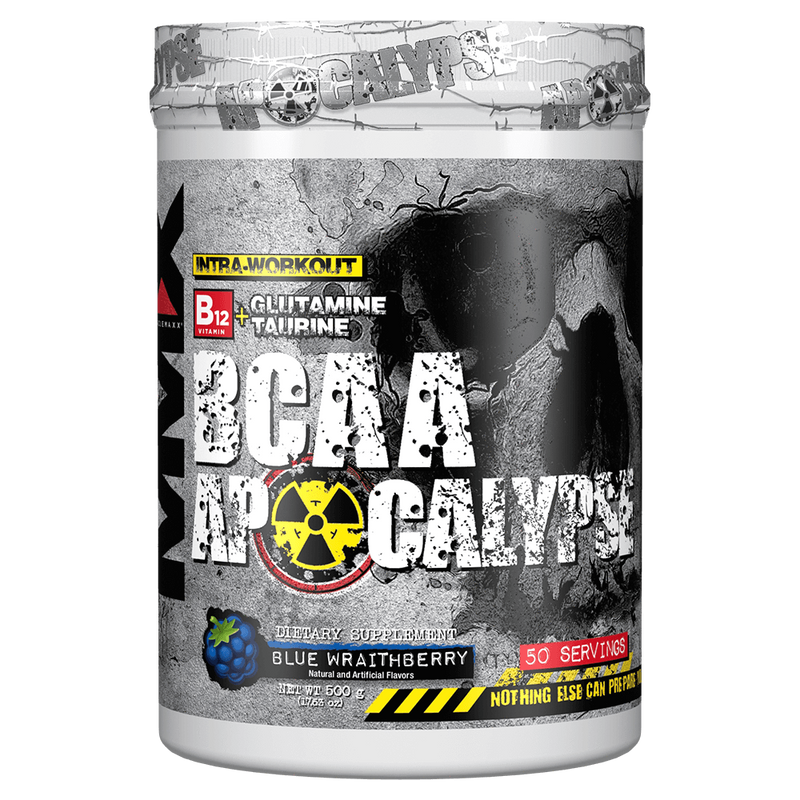 MuscleMaxx BCAA Apocalypse BCAA 50 Servings / Red Punch Napalm at Supplement Superstore Canada