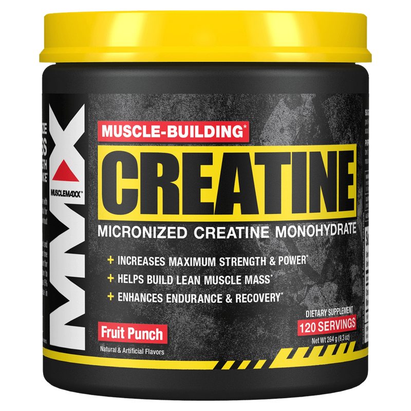 MuscleMaxx Creatine Monohydrate Creatine 120 Servings / Fruit Punch at Supplement Superstore Canada