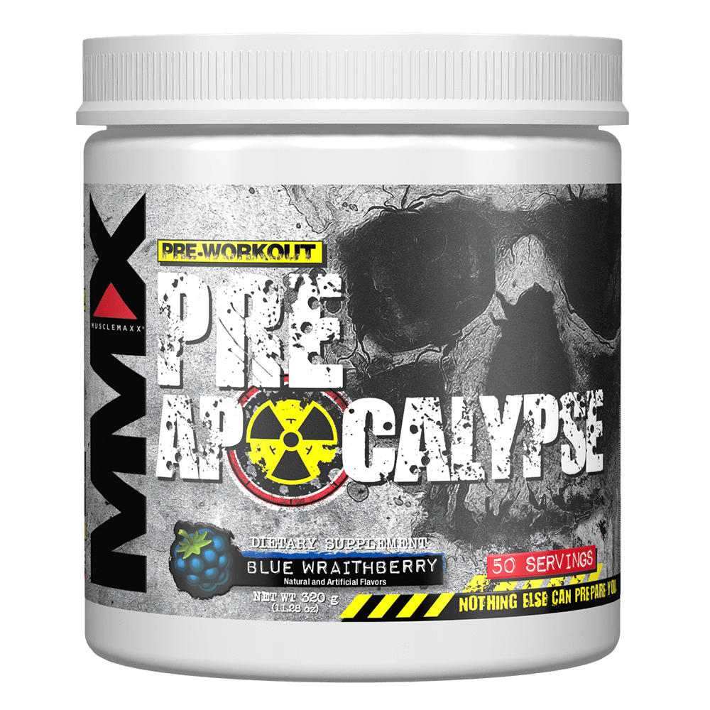 Blue Wraith Berry Pre Apocalypse by MuscleMaxx Allmax Pre Workout at Supplement Superstore Canada
