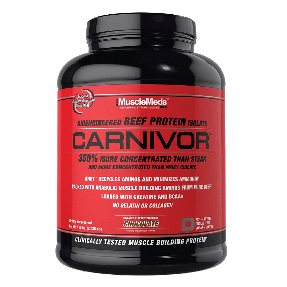 MuscleMeds Carnivor Alternate Source Protein 4lb / Chocolate at Supplement Superstore Canada