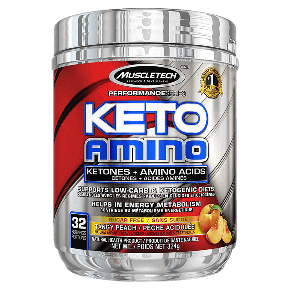 MuscleTech Keto Amino BCAA 32 Servings / Tangy Peach at Supplement Superstore Canada