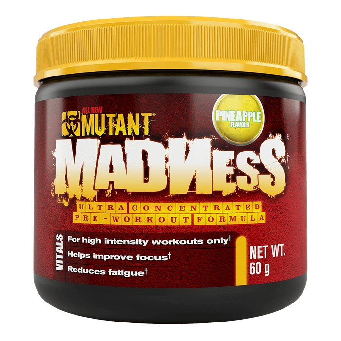 Mutant Madness Pre-Workout 10 Servings / Pineapple Passion at Supplement Superstore Canada
