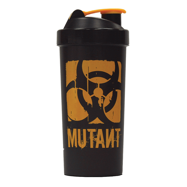 Mutant Mega Shaker Shaker 1 Litre / Black/Black at Supplement Superstore Canada