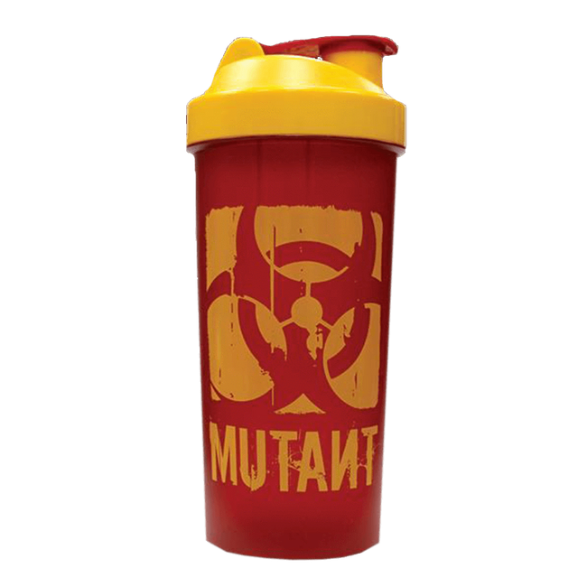 Mutant Mega Shaker Shaker 1 Litre / Maroon/Yellow at Supplement Superstore Canada