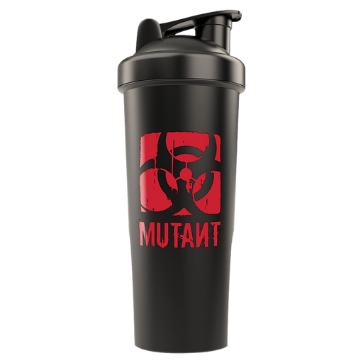 Mutant Mega Shaker Bottle Gym Accessories 1 Litre / Black/Black at Supplement Superstore Canada