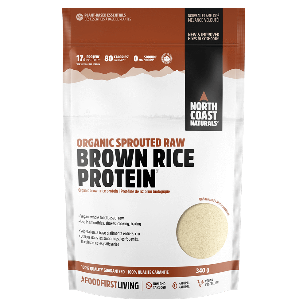 Unflavoured Brown Rice Protein by North Coast Naturals Alternate Source Protein at Supplement Superstore Canada