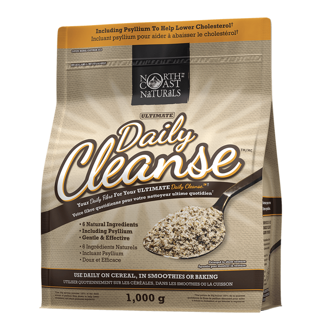 North Coast Naturals Daily Cleanse Detox 1kg / Unflavoured at Supplement Superstore Canada