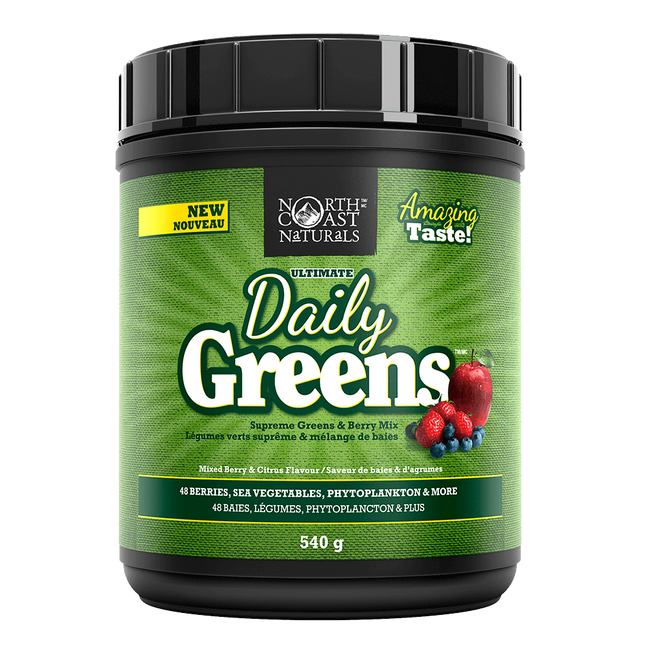 Berry and Citrus Daily Greens by North Coast Naturals General Health Foundation Greens at Supplement Superstore Canada