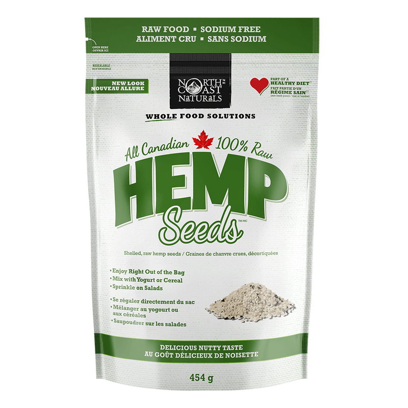 North Coast Naturals Raw Hemp Seed Hearts