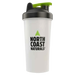 North Coast Naturals Shaker Cup Shaker 700ml / Clear/Black at Supplement Superstore Canada