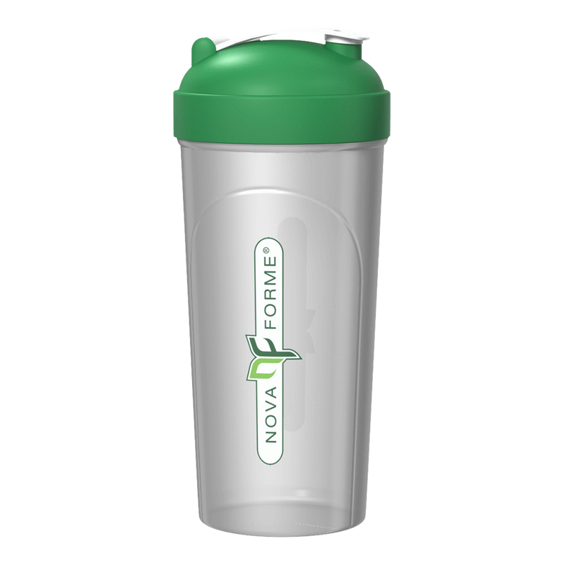 NovaForme Shaker Shaker 800ml / Clear/Green at Supplement Superstore Canada