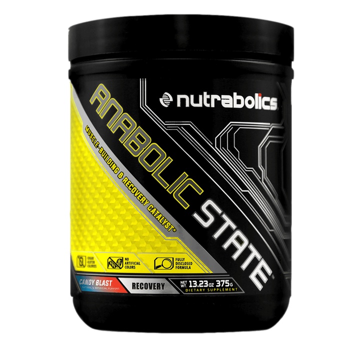 Nutrabolics Anabolic State BCAA 30 Servings / Candy Blast at Supplement Superstore Canada
