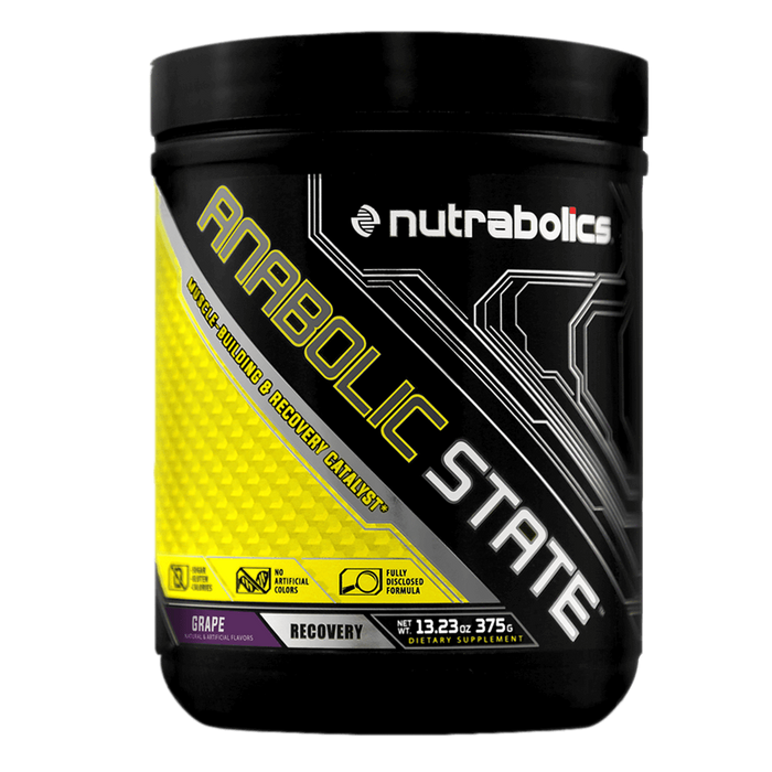 Nutrabolics Anabolic State BCAA 30 Servings / Grape at Supplement Superstore Canada