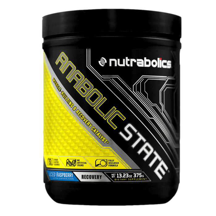 Nutrabolics Anabolic State BCAA 30 Servings / Iced Raspberry at Supplement Superstore Canada
