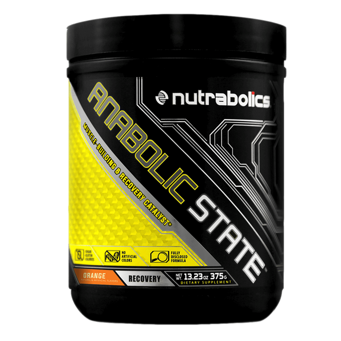 Nutrabolics Anabolic State BCAA 30 Servings / Orange at Supplement Superstore Canada