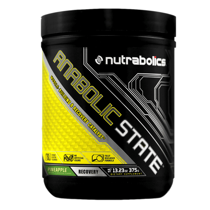 Nutrabolics Anabolic State BCAA 30 Servings / Pineapple at Supplement Superstore Canada