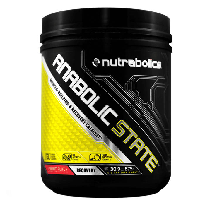Nutrabolics Anabolic State BCAA 70 Servings / Fruit Punch at Supplement Superstore Canada