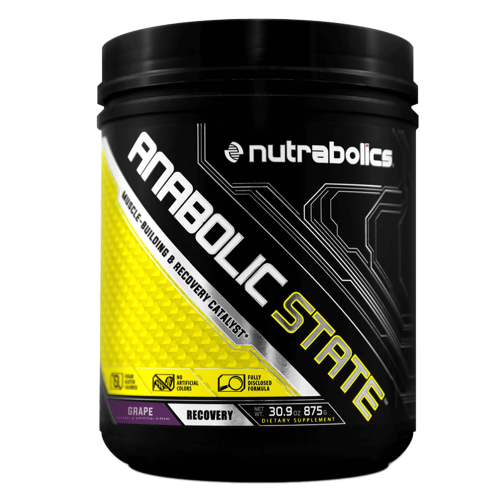 Nutrabolics Anabolic State BCAA 70 Servings / Grape at Supplement Superstore Canada