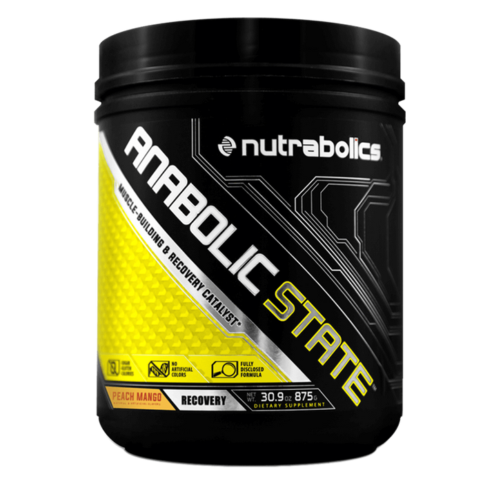 Nutrabolics Anabolic State BCAA 70 Servings / Peach Mango at Supplement Superstore Canada